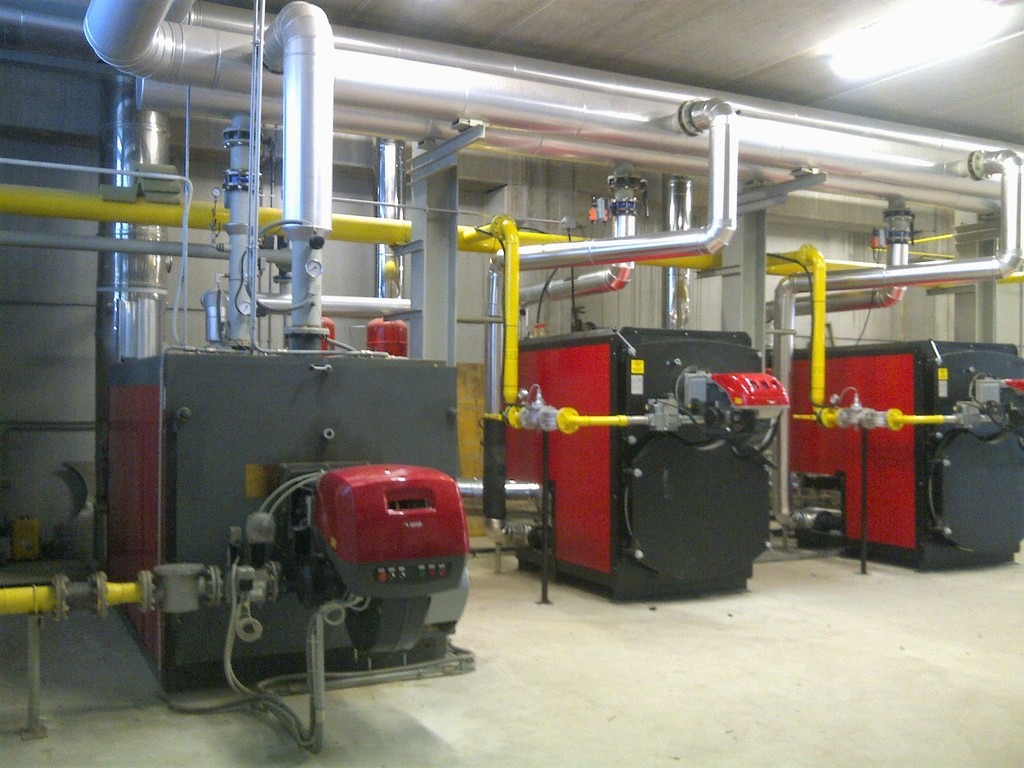 Riscaldamento Industriale - Impianti industriali